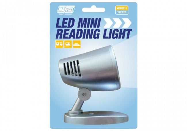 Maypole LED Mini Reading Lamp for Caravans, Boats & Motorhomes-Tamworth Camping