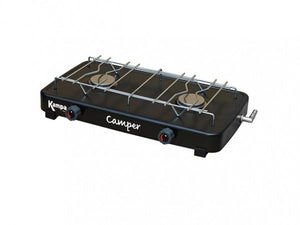 Kampa Camper Double Gas Hob-Tamworth Camping