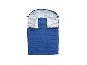 Kampa Continental Double Sleeping Bag Cobalt-Tamworth Camping