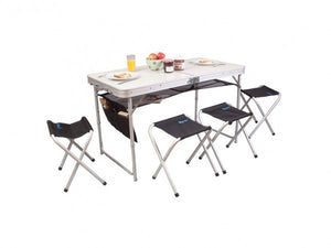 Kampa Espresso Table & Stool Set-Tamworth Camping