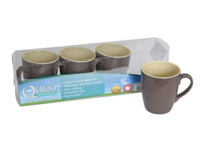 Quest Burslem 4 Piece Mug Set-Tamworth Camping