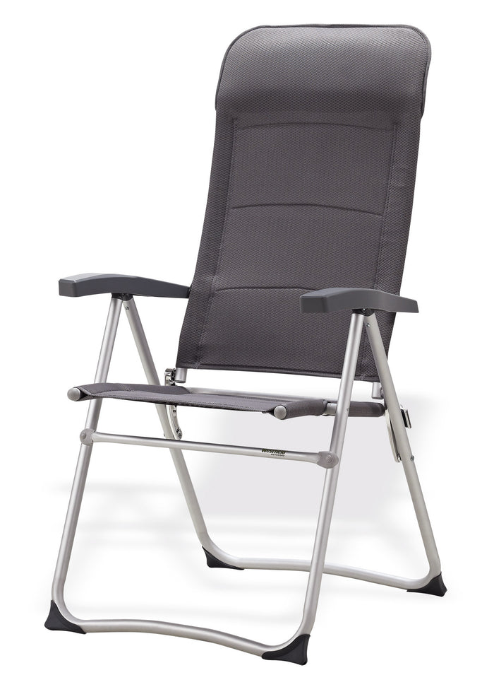 Westfield Outdoors Be Smart SRH 301 Chair Grey for Camping & Caravan