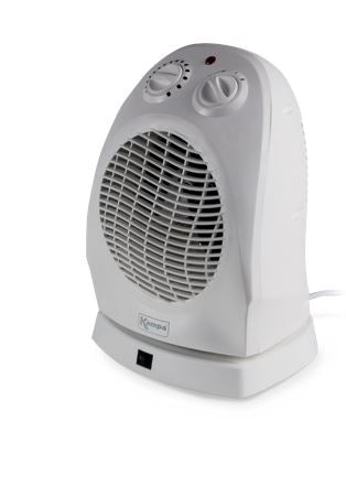 Kampa Mistral Low Wattage Oscillating Fan Heater