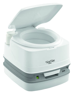 Thetford Porta Potti Qube 345 Portable Chemical Toilet 92813-Tamworth Camping