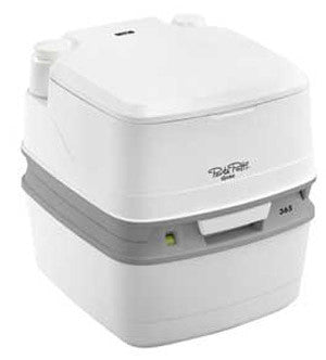 Thetford Porta Potti Qube 365 Portable Chemical Toilet 92817-Tamworth Camping