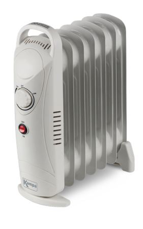 Kampa Tempo Low Wattage 7 Fin Oil Filled Radiator-Tamworth Camping