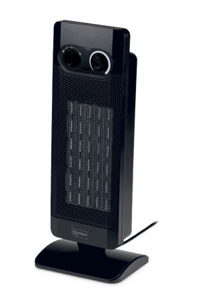 Kampa Sirocco Tall Oscillating Low Wattage PTC Heater