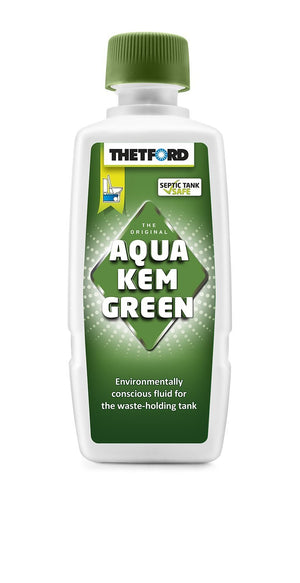 Thetford Aquakem Green Toilet Fluid 375ml-Tamworth Camping