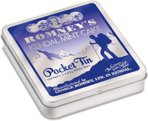 Romneys Kendal Mint Cake Pocket Tin 170 g-Tamworth Camping