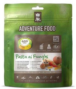 Adventure Food Vegetarian Pasta Cheese with Mushroom - 1 Person Serving-Tamworth Camping
