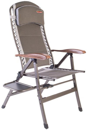 Quest Naples Pro Comfort chair with side table-Tamworth Camping