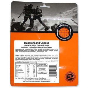 Expedition Foods Macaroni and Cheese (800kcal) - High Energy Serving-Tamworth Camping
