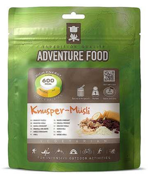 Adventure Food Crunchy Muesli - 1 Person Serving-Tamworth Camping