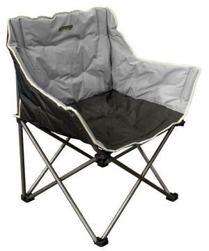 Quest Autograph Kent XL chair in black and grey-Tamworth Camping
