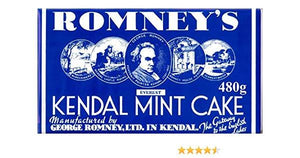Romneys Kendal Mint Cake 480g GIANT - WHITE BAR-Tamworth Camping