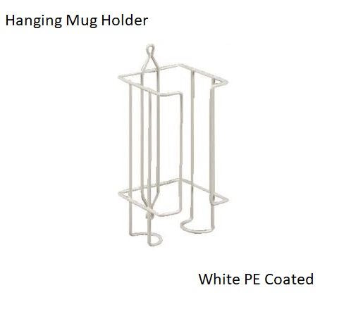 Wire Mug Holder (White) by Grove Household Kitchen Cup