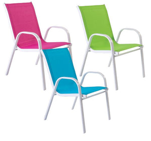 Childrens happy XL stacking chair-Tamworth Camping