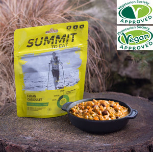Summit To Eat 5 Bean Cassoulet - Serves 1-Tamworth Camping