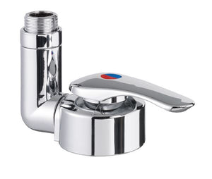 Reich Mixer faucet ceramic twist AT 39mm push fit (Chrome)-Tamworth Camping
