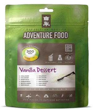 Adventure Food Vanilla Dessert-Tamworth Camping