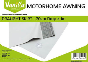 Caravan and Motorhome-Awning Draught Skirt 70cm (2ft 3In) Drop-Tamworth Camping