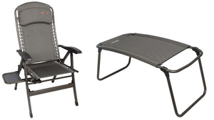 Quest Naples pro comfort chair with table & Naples Pro Rest-Tamworth Camping