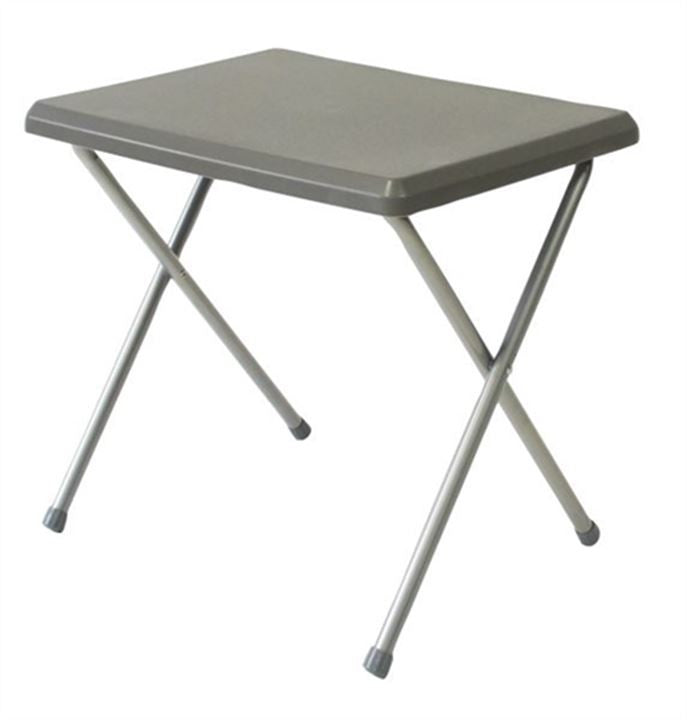 Quest Fleetwood Low Plastic Table Grey Tamworth Camping