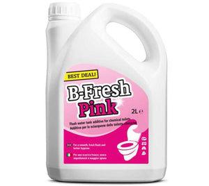 B-Fresh Pink Rinse additive for chemical toilets-Tamworth Camping