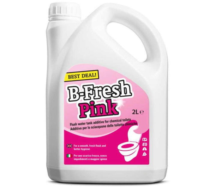 B-Fresh Pink Rinse additive for chemical toilets