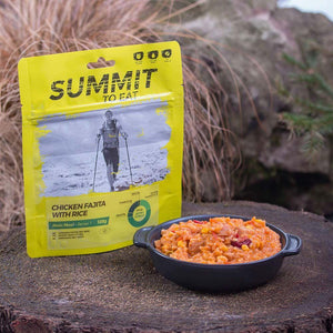Summit to Eat Chicken Fajita with Rice-Tamworth Camping
