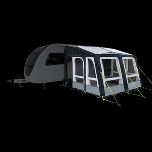 Kampa Grande AIR Pro Inflatable Caravan Awning 2020-Tamworth Camping