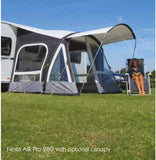 Kampa Fiesta Pro Air 2017 Inflatable Caravan Porch Awning-Tamworth Camping