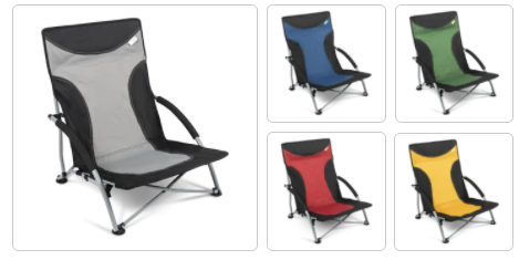 Kampa Sandy Low Chair - Various Colours