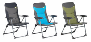 Kampa The Skipper Reclining Armchair-Tamworth Camping