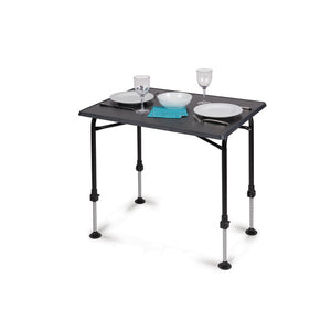 Kampa Hi-Lo Table PRO Charcoal Medium-Tamworth Camping