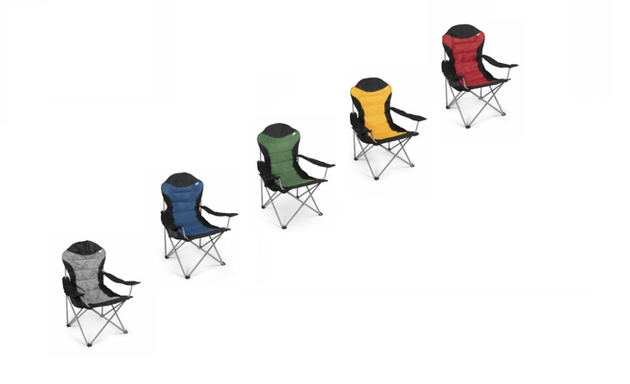 Kampa Dometic Xl High Back Chairs