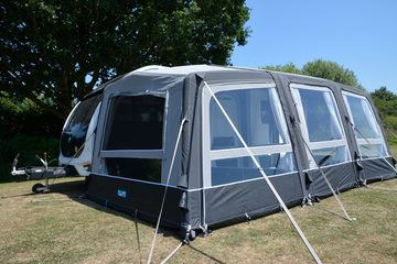 Kampa Grande AIR All Season LEFT Extension 2019-Tamworth Camping