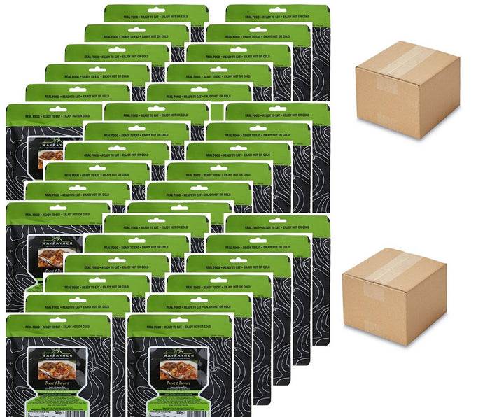 Wayfayrer 100 Meal Ration Pack (10 Meal Variety)