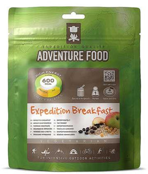 Adventure Food Expedition Breakfast - 1 Person Serving-Tamworth Camping