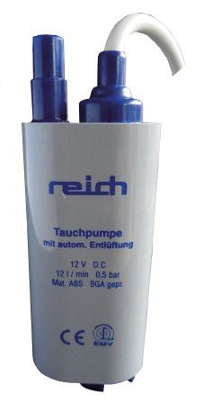 Reich Submersible pump 12L-Tamworth Camping