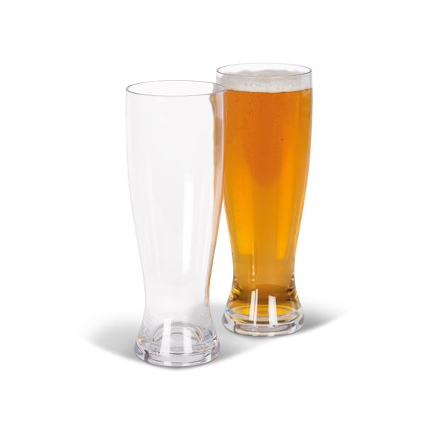 Kampa Polycarbonate Beer Glass 660ml Twin Pack