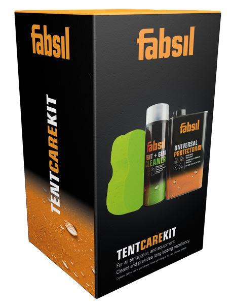 Fabsil Tent and Gear Clean +Proof Kit