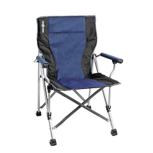 Brunner Raptor Folding Chair Blue/Black-Tamworth Camping