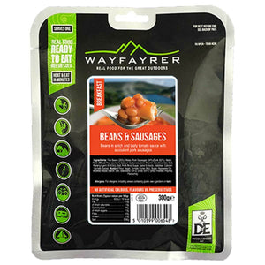 Wayfayrer Beans & Sausage Ready-to-Eat Camping Food-Tamworth Camping