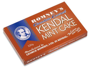 Romneys Kendal Mint Cake Double Chocolate Pack 220g-Tamworth Camping