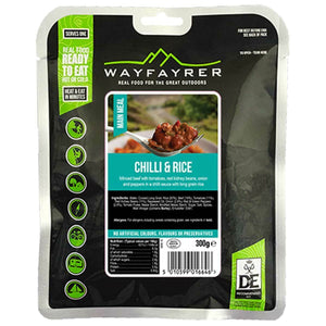 Wayfayrer Chilli Con Carne & Rice Ready-to-Eat Camping Food-Tamworth Camping