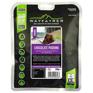 Wayfayrer Chocolate Pudding Ready-to-Eat Camping Food-Tamworth Camping