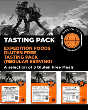 Expedition Foods 450kcal Gluten Free - 3 Meal Tasting Pack-Tamworth Camping