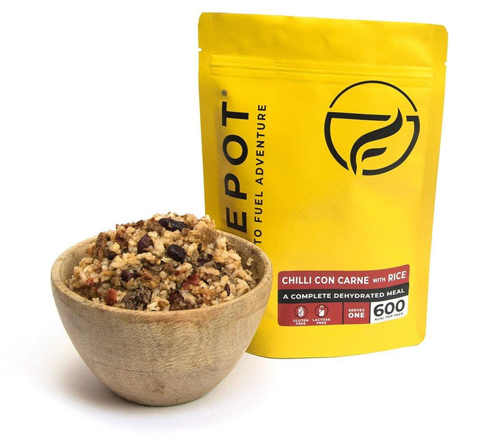 Firepot Chilli con Carne and Rice Regular Serving