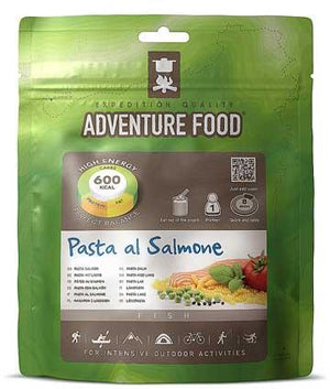 Adventure Food Salmon Pasta - 1 Person Serving-Tamworth Camping